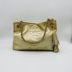 Tory Burch Thea Chain Slouchy Tote Bag